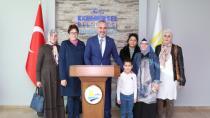 Başkan Yıldırım Okul Aile Birliğini Ağırladı