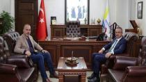Başkan Köşker'den Başkan Yıldırım'a Ziyaret