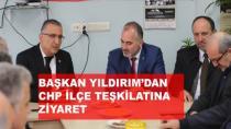 Başkan Yıldırım'dan CHP'ye Ziyaret