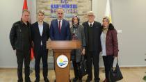 Balkan Türklerinden Başkan Yıldırım'a Ziyaret