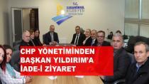 CHP'den Başkan Yıldırım'a Ziyaret