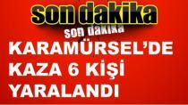 Karamürsel'de Trafik Kazası Yaralı Var!