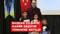 Karamürsel'de Öğrenciler Karne Aldı