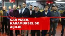 CAR WASH Karamürsel'de Açıldı
