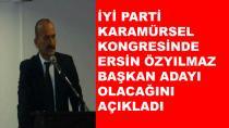 Karamürsel İYİ Parti'ye Özyılmaz Aday Olacak