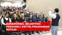 Karamürsel Belediyesi Eğitim Programına Katıldı