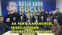 AK Parti'den Demirel'e Tam Destek