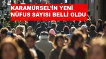 Karamürsel'in Yeni Nüfus Oranı Belli Oldu
