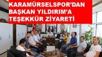 Karamürselspor'dan Başkan Yıldırım'a Teşekkür