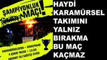 Karamürselspor Şampiyonluk Maçı Yapacak
