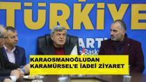Karaosmanoğlu Karamürsel'i Ziyaret Etti
