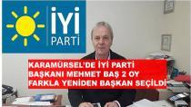 İYİ Parti Karamürsel'de Baş Yeniden Başkan Seçildi