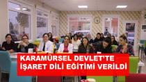 Hastane Personeline İşaret Dili Eğitimi Verildi
