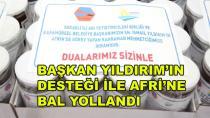 Türk Askerine 1500 Kilo Bal Yollandı