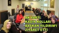AK Kadınlardan Başkan Yıldırım'a Ziyaret