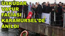 Üsküdar Vapuru Şehitleri Karamürsel'de Anıldı