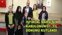 İstiklal Marşının Kabulü Kutlandı