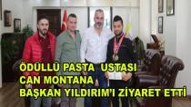 Engin Yılmaz Pastanesinden Başkan Yıldırım'a Ziyaret