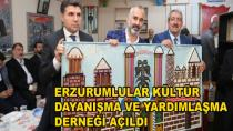 Erzurumlular Derneği Açıldı