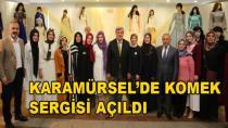 Karamürsel'de Komek Sergisi Açıldı