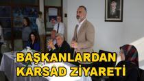 Başkanlardan KARSAD Ziyareti