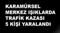 Karamürsel'de Kaza 5 Yaralı Var