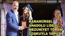 Anadolu Lisesinde Mezuniyet Heyecanı