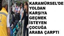 Karamürsel'de Çocuğa Araba Çaptı