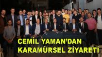 Cemil Yaman'dan Karamürsel Ziyareti