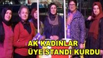 AK Kadınlar Üye Standı Kurdu