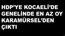 HDP'ye En Az Oy Karamürsel'den Çıktı