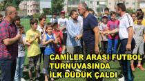 Camiler Arası Futbol Turnuvası Başladı