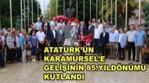 Karamürsel Atatürk'ü Unutmadı