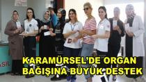 Karamürsel'de Organ Bağışına Destek