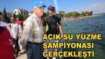 Açık Su Yüzme Yarışı Karamürsel'de Yapıldı