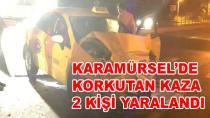 Karamürsel'de Korkutan Kaza 2 Yaralı
