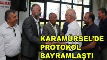 Karamürsel'de Protokol Bayramlaştı