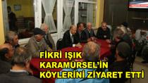 Fikri Işık Karamürsel'i Ziyaret Etti
