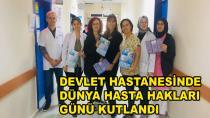 Devlet Hastanesinde Hasta Hakları Günü Kutlandı