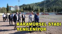Karamürsel Stadı Yenileniyor