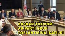 Başkan Yıldırım AK Parti Grup Toplantısına Katıldı