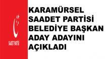 Karamürsel Saadet Partisi Adayını Açıkladı