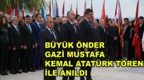 Atatürk Karamürsel'de Törenle Anıldı