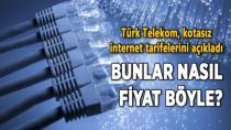 Türk Telekom İnternet Fiyatları Pes Dedirtti