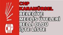 CHP Karamürsel Meclis Adayları Belli Oldu