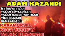 Karamürsel'de ADAM Kazandı