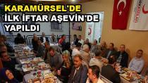 İlk İftar Yemeği Kızılay Aşevi'nde Yapıldı