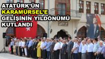 Atatürk'ün Karamürsel'e Gelişinin 86. Yıldönümü Kutlandı