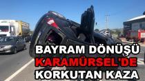 Karamürsel'de Trafik Kazası 2 Yaralı