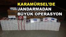 Karamürsel'de Kaçak Sigara Operasyonu